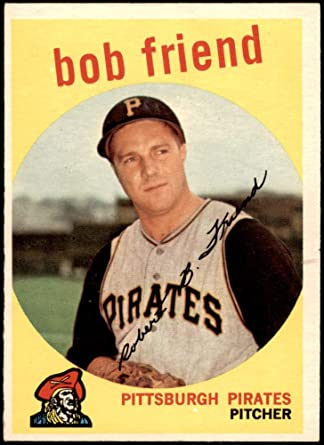 This Date in Pittsburgh Pirates History: November 24th, Bob Friend and Al Martin
