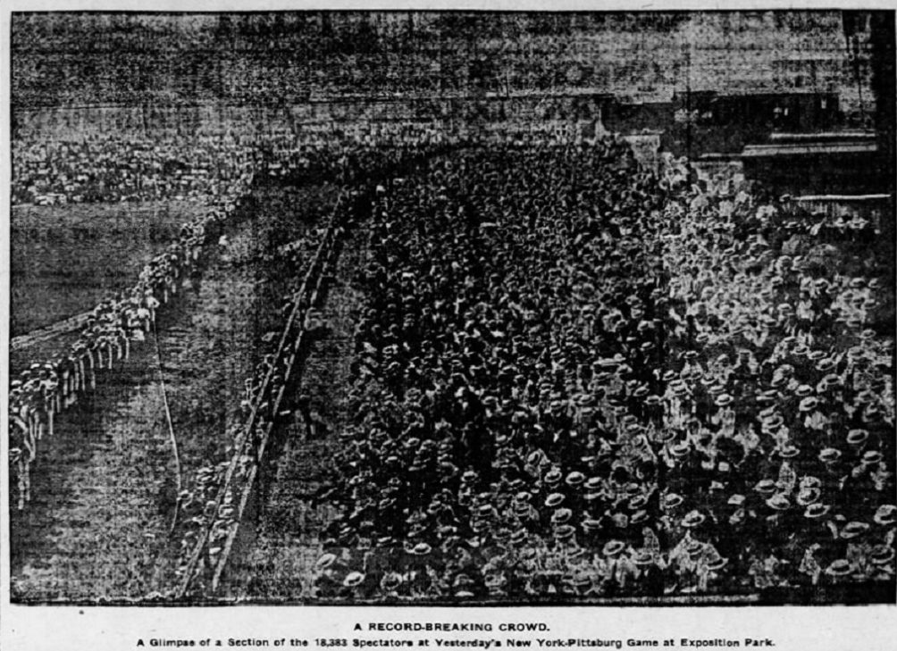Game Rewind: Pirates vs Giants, August 5, 1905