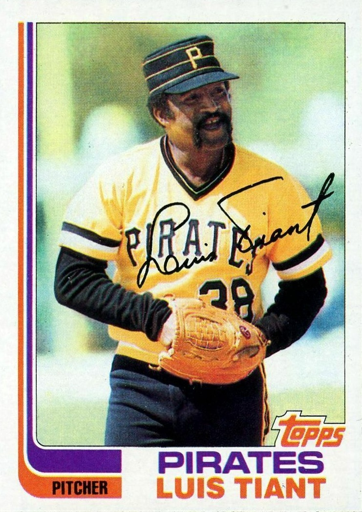Card of the Day: 1982 Topps Luis Tiant