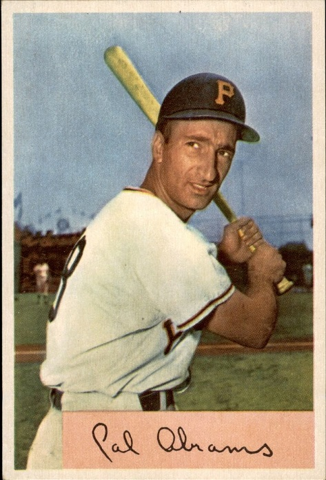 Card of the Day: 1954 Bowman Cal Abrams