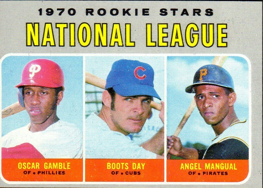 Card of the Day: 1970 Topps National League Rookie Stars