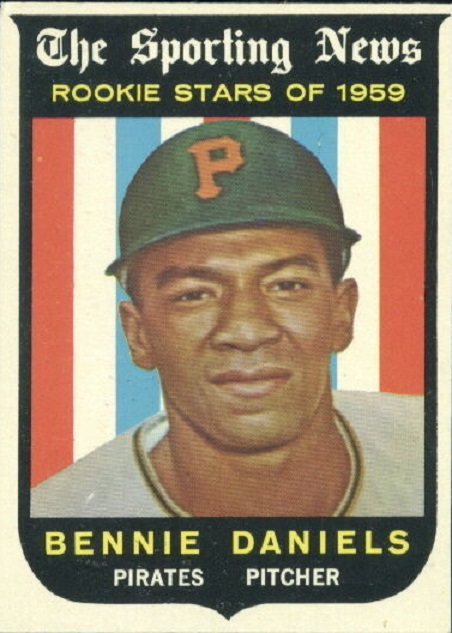 Card of the Day: 1959 Topps Bennie Daniels