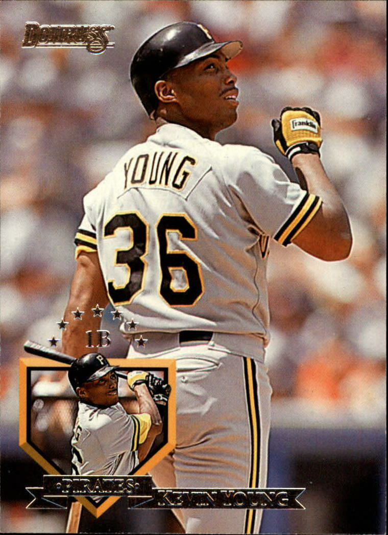 Card of the Day: 1995 Donruss Kevin Young