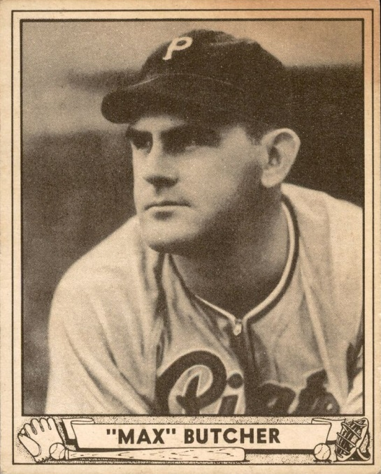 Card of the Day: 1940 Play Ball Max Butcher