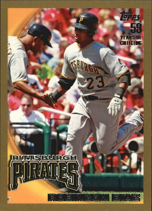 Card of the Day: 2010 Topps Gold Robinzon Diaz