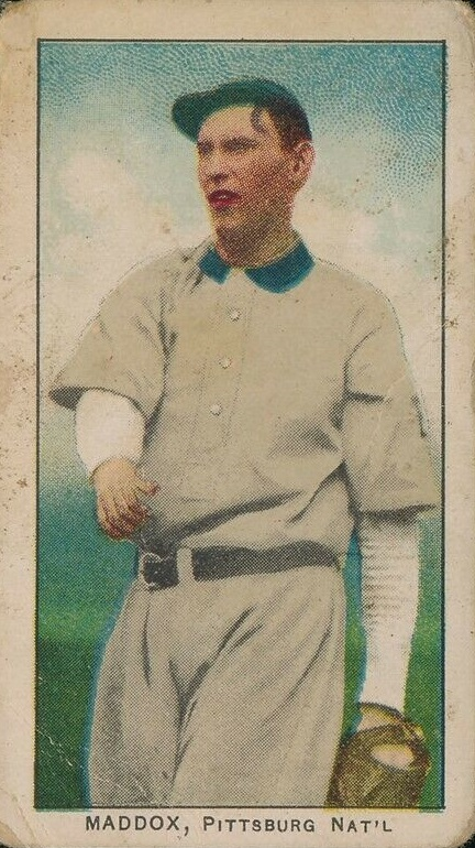Card of the Day: 1909 E95 Nick Maddox