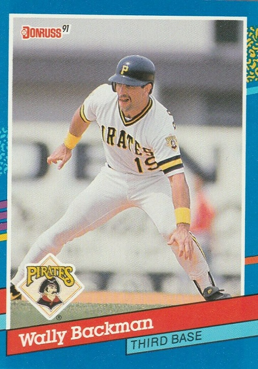 Card of the Day: 1991 Donruss Wally Backman